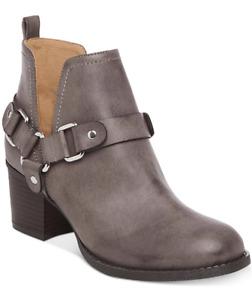 NEW Madden Girl Women's Finian Bootie Boots Size 10 Dark Gray $114