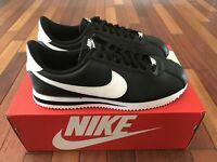 Men Shoe Cortez Black/Silver/White  Basic Size 9.5 New 819719-012 Medium