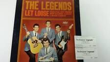 VINTAGE ROCK & ROLL THE LEGENDS LET LOOSE SAMMY McCUE AUTOGRAPHED LP RECORD RARE