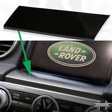 Interior trim dash navigation screen panel fascia Discovery 4 Gloss Black Piano