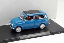 Fiat Giardiniera Baujahr 1960 blau 1:24 Leo Models