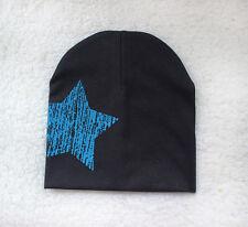 Unisex Baby Boy Girl Toddler Infant Children Cotton Soft Cute Hat Cap Beanie Black