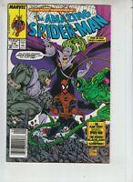 """Amazing Spider-Man 319 NM- (9.2) 9/89 Rhino! """"McFarlane story & art"""