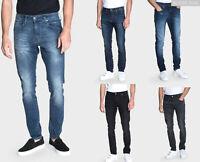 883 Police Mens Designer Stretch Jeans Slim Fit Distressed Denim Casual Trousers