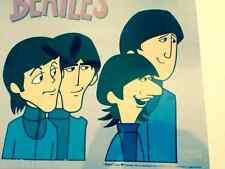 THE BEATLES Cartoon Ltd Ed Sericel Animation Cel  POSING