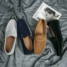 Mens Loafers Shoes Driving Lazy Shoes Casual Outdoor Slip On Shoes Plus Size 12