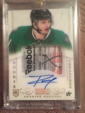 2013-14 national treasures hockey Antoine Roussel rookie patch tag auto 2/5