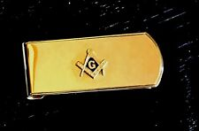 Vintage Anson Masonic Money Clip Pat.#3,049,772 - Never Used