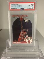Michael Jordan 1990 Hoops #65 PSA 8.5 NM-MT+