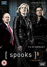 SPOOKS COMPLETE BBC SERIES 8 DVD Peter Firth Hermione Norris UK R2 New Sealed