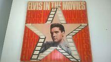 "Elvis in the Movies 12"" vinyl record LP"