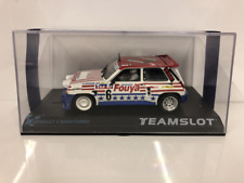 Team Slot 12107 Renault 5 Maxi Turbo Fuoya 1:32 Scale New Boxed