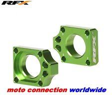 NEW RFX KAWASAKI KX125 KX250 2003-2008 CNC PRO SERIES AXLE BLOCKS