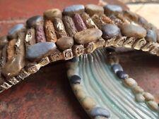 Secret Fairy Garden Bridge & Stream Miniature Wood Stone Effect Resin Ornament