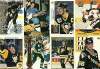 Mario Lemieux Collection... 22 Cards of Mario Lemieux Lot #1 Pittsburg Penguins