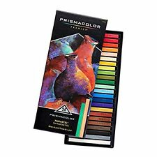 Prismacolor Premier Nupastel Firm Pastel Color Sicks - 24pk ~ **NEW**