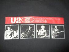 "2001 U2 ""Ref: Elevation 001 /->"" Concert Tour (Xl) T-Shirt Bono Edge"