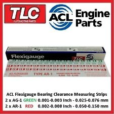 Flexigauge Plastigauge AR-1 RED x 2 & AG-1 GREEN x 2 Bearing Clearance Strips