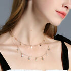 Beauty Simple Moon Star Choker Necklace Gold Chain Collar Jewelry Accessories