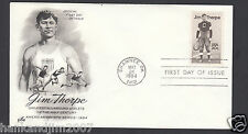 Jim Thorpe 1984 Usps First Day Cover with 20 cent Commemorative Stamp
