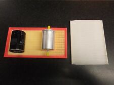 VW NEW BEETLE 1.8T 20V SERVICE KIT OIL FUEL CABIN AIR FILTERS