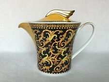 Versace Barocco Rosenthal 6-cup Tea Pot, New, Certificate of Authenticity