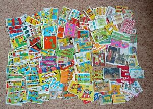 INSERTS + WRAPPERS  more than  200pcs.  bubble gum, chewing gum wrappers