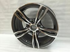 "New 18"" MATTE GUNMETAL M5 WHEELS RIMS FITS BMW F10 5 SERIES XDRIVE 528i 528xi"