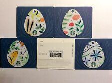 Geschenkkarte Starbucks Deutschland # 6148 Osterkarten 4 verschiedenen Karten
