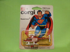 CORGI TOYS 6 DAILY PLANET HELICOPTER SUPERMAN - RED - NM+UNOPENED CARD BLISTER