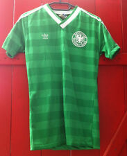 Dfb Allemagne Adidas Old School Maillot Coupe du monde 1986 Away Gr. S Made in West Germany