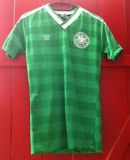 DFB GERMANIA ADIDAS Oldschool MAGLIA WM 1986 AWAY tg. S MADE IN WEST GERMANY