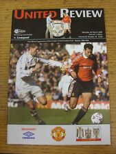 04/03/2000 Manchester United v Liverpool [Championship Season] . (Any noticable