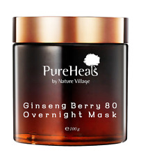 PUREHEALS Ginseng Berry 80 Overnight Mask 3.53 Oz Exp 5/ 2020 New in Box $62