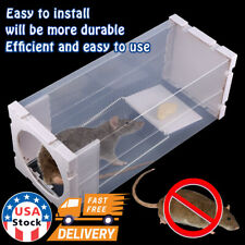 White Humane Rat Trap Cage Animal Pest Rodent Mic