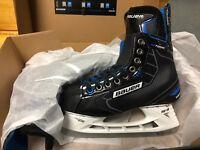 Bauer Nexus N7000 Jr. and Sr. Ice Hockey Skates W/ FREE SHARPENING