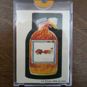 1973 Topps Series 6 WACKY PACKAGES BLISTERINE MOUTHWASH Proof Card Vault Rare