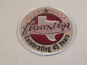 2006 HOUSTON ASTROS 45TH ANNIVERSARY MLB UNIFORM PATCH