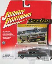 JOHNNY LIGHTNING R19 CLASSIC GOLD 1967 PONTIAC GTO RLT Rubber Tires