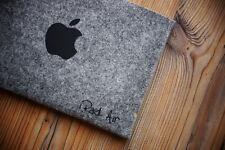 NUOVO iPad e copertura aerea Borsa Custodia Feltro Fatto a Mano Custodia Apple