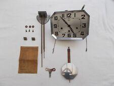 MECANISME CARILLON ODO 3 TROUS 6 TIGES 8 MARTEAUX FRENCH CLOCK VINTAGE