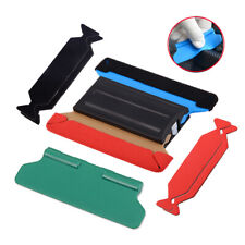 Hand Magnetic Squeegee with 3pcs Scrapper Fabric Felt Cloth Sticker Wrap Tools
