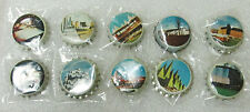 "LOT OF 10 MONTREAL QUEBEC CANADA ""EXPO 67"" BEER BOTTLE CAPS! sold as found 1967"