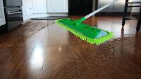 Fibermop 11 Piece Microfiber Mop Cleaning Kit Floor Care dust pet hair removal