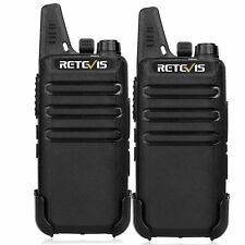 2X Walkie Talkie Retevis RT22 2W UHF 16CH TOT VOX Scan Squelch Two Way Radio US