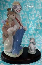 Lladro #7686 & #7685~PALS FOREVER & A FRIEND FOR LIFE W/Base BUY1 GET1 50% OFF