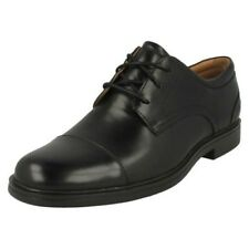 Mens Clark Formal Lace Up Shoes Un Aldric Cap