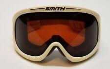 Smith Goggles White Rose Copper Lens Ski Snow Board Adult
