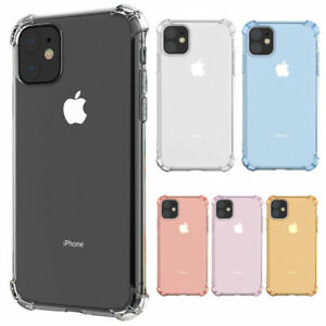 Shockproof Tough Soft Gel Case Cover For iPhone 12 Pro Max 11 XS XR 8 7 6+ SE 5S