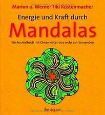Energie und Kraft durch Mandalas: Ein Ausmalbuch mit Orn... | Buch | Zustand gut